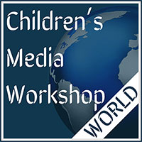 children's media workshop world logo 200 pixels